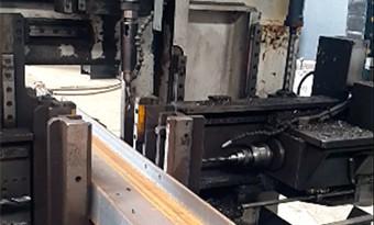 Beams cut and drill